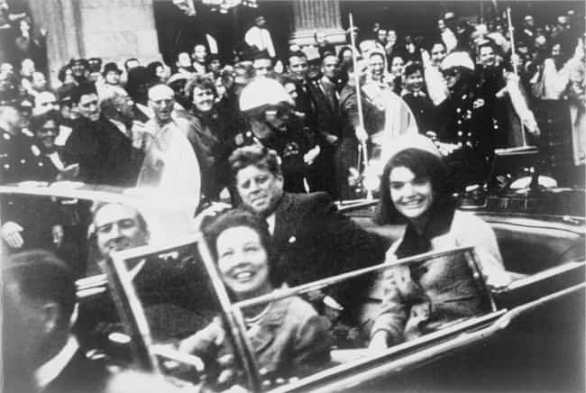 John F. Kennedy assassin... is listed (or ranked) 1 on the list 8 Shocking Historical Events That Have Been Blamed on the Mafia
