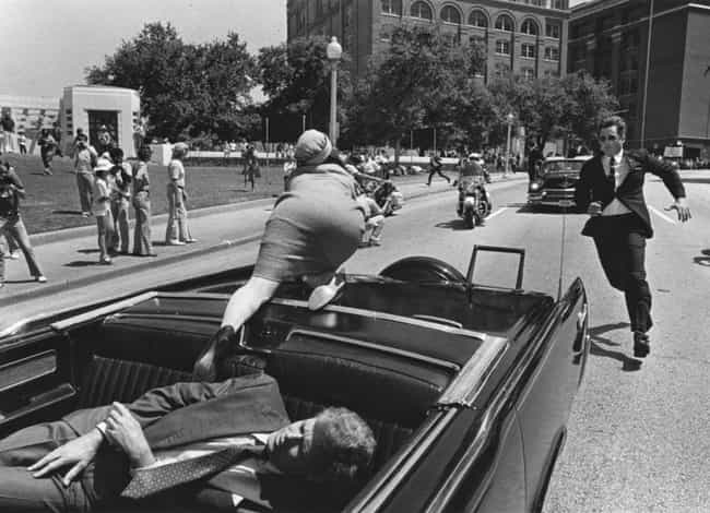John F. Kennedy assassination is listed (or ranked) 1 on the list 8 Shocking Historical Events That Have Been Blamed on the Mafia