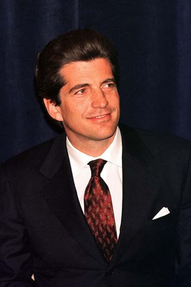 John F. Kennedy, Jr. is listed (or ranked) 8 on the list 29 Famous People (Allegedly) Killed by the Illuminati