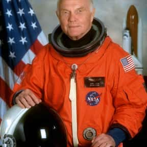 John Glenn is listed (or ranked) 18 on the list List of Famous Test Pilots