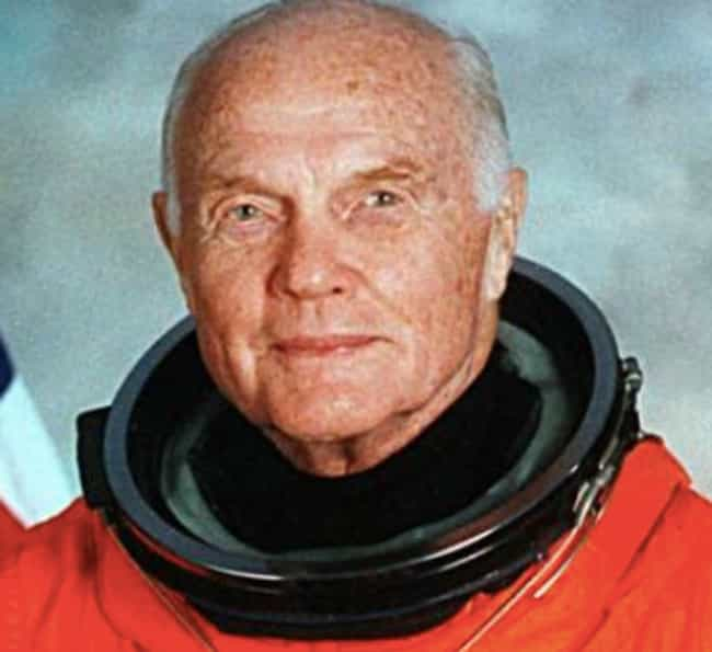 John Glenn is listed (or ranked) 4 on the list 25 People Who Did Great Things After Fifty