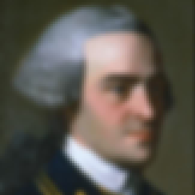 John Hancock is listed (or ranked) 4 on the list The 50 Hottest Founding Fathers