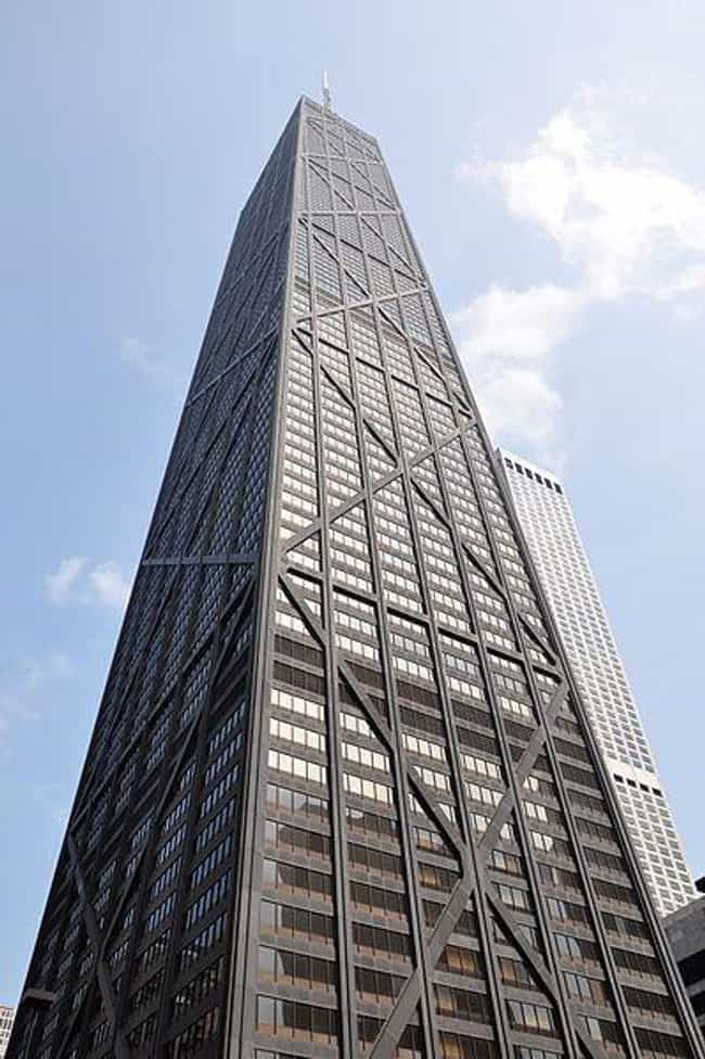 John Hancock Center is listed (or ranked) 4 on the list The 25 Tallest Buildings in Chicago