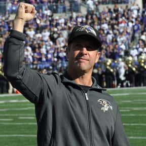 John Harbaugh is listed (or ranked) 11 on the list The Best Current NFL Coaches