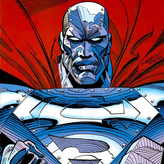 Steel (John Henry Irons)... is listed (or ranked) 4 on the list Ranking Every Superman in the Comics