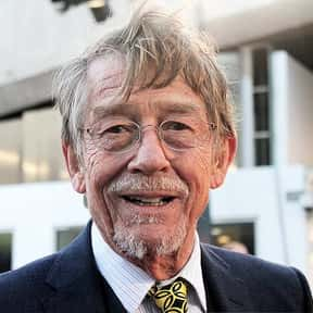 John Hurt is listed (or ranked) 12 on the list Merlin Cast List