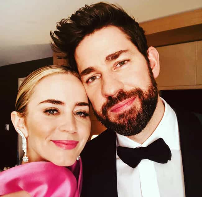 John Krasinski is listed (or ranked) 1 on the list Emily Blunt Loves and Hookups