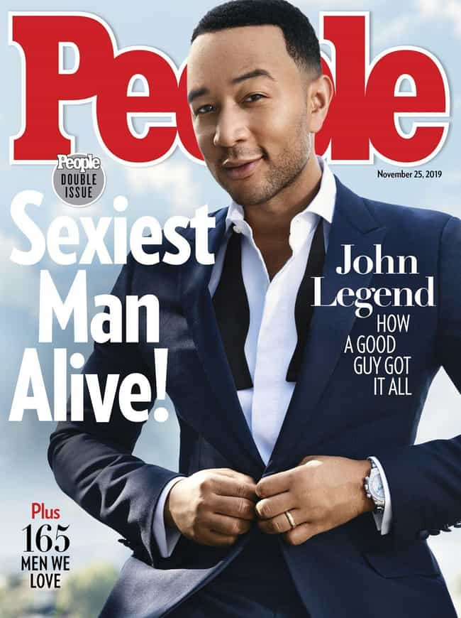 John Legend is listed (or ranked) 1 on the list Every Cover of People's Sexiest Man Alive Issue, Ever