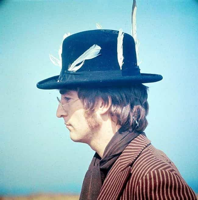 John Lennon is listed (or ranked) 4 on the list Celebrities Who Were Caught Actually Wearing a Fedora