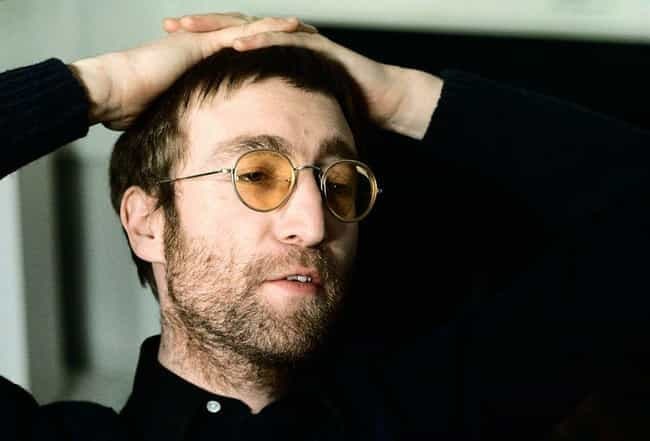 John Lennon is listed (or ranked) 4 on the list Famous Male Guitarists