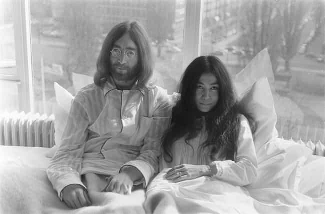 John Lennon is listed (or ranked) 2 on the list 7 Famous White Men Who Married Asian Women