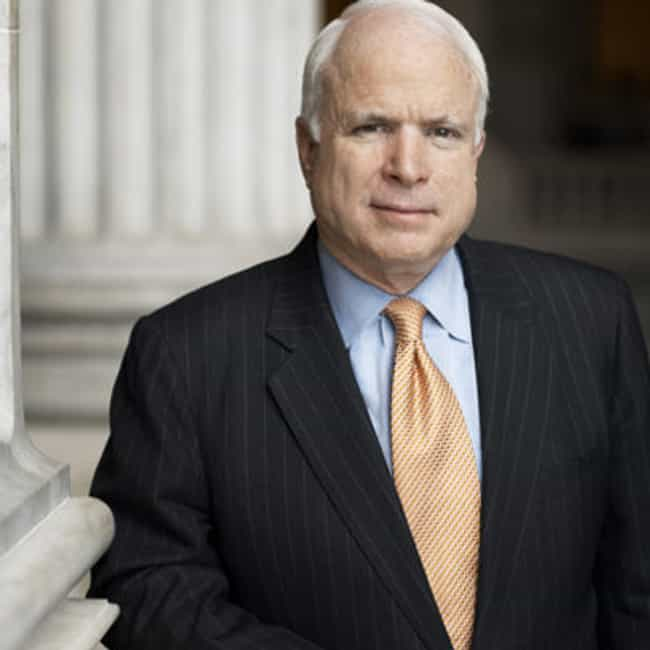 John McCain is listed (or ranked) 1 on the list Famous Prisoners at the Hanoi Hilton