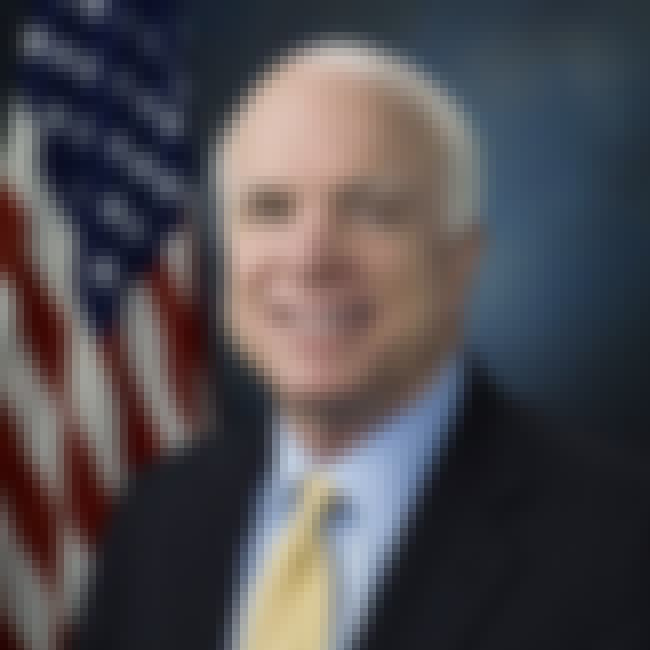 John McCain is listed (or ranked) 4 on the list 23 Celebrities Who Were Born on Military Bases