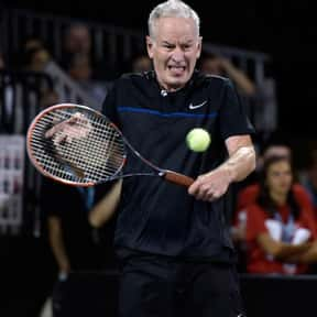 John McEnroe is listed (or ranked) 12 on the list List of Famous Tennis Players
