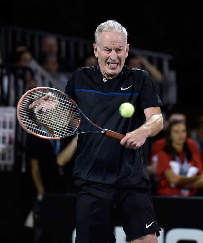 John McEnroe is listed (or ranked) 2 on the list The Best Tennis Players from the United States