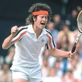 John McEnroe is listed (or ranked) 21 on the list The Greatest Male Tennis Players of the Open Era