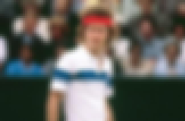John McEnroe is listed (or ranked) 8 on the list Left Handed Tennis Players