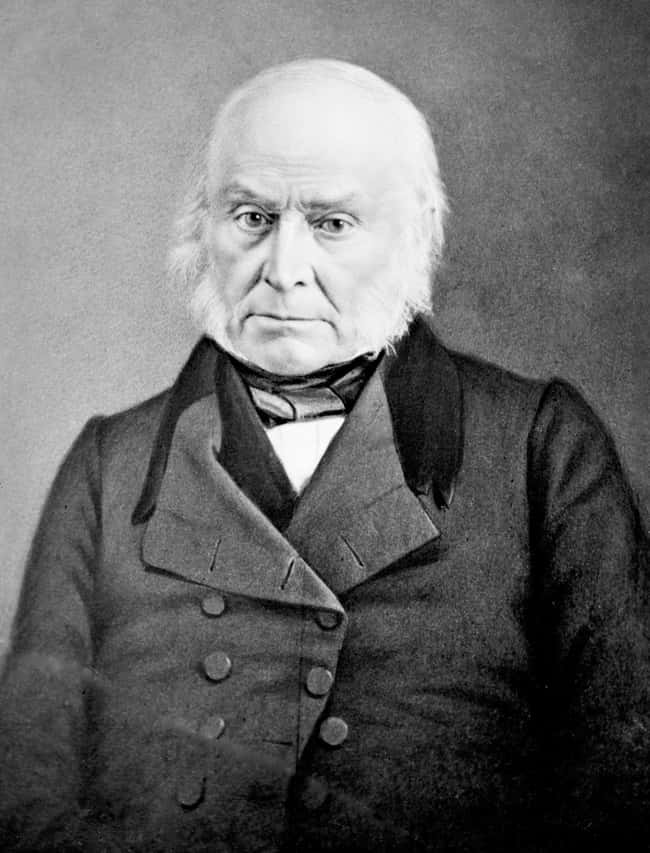 John Quincy Adams is listed (or ranked) 6 on the list Every U.S. President & Every Medical Problem They've Ever Had