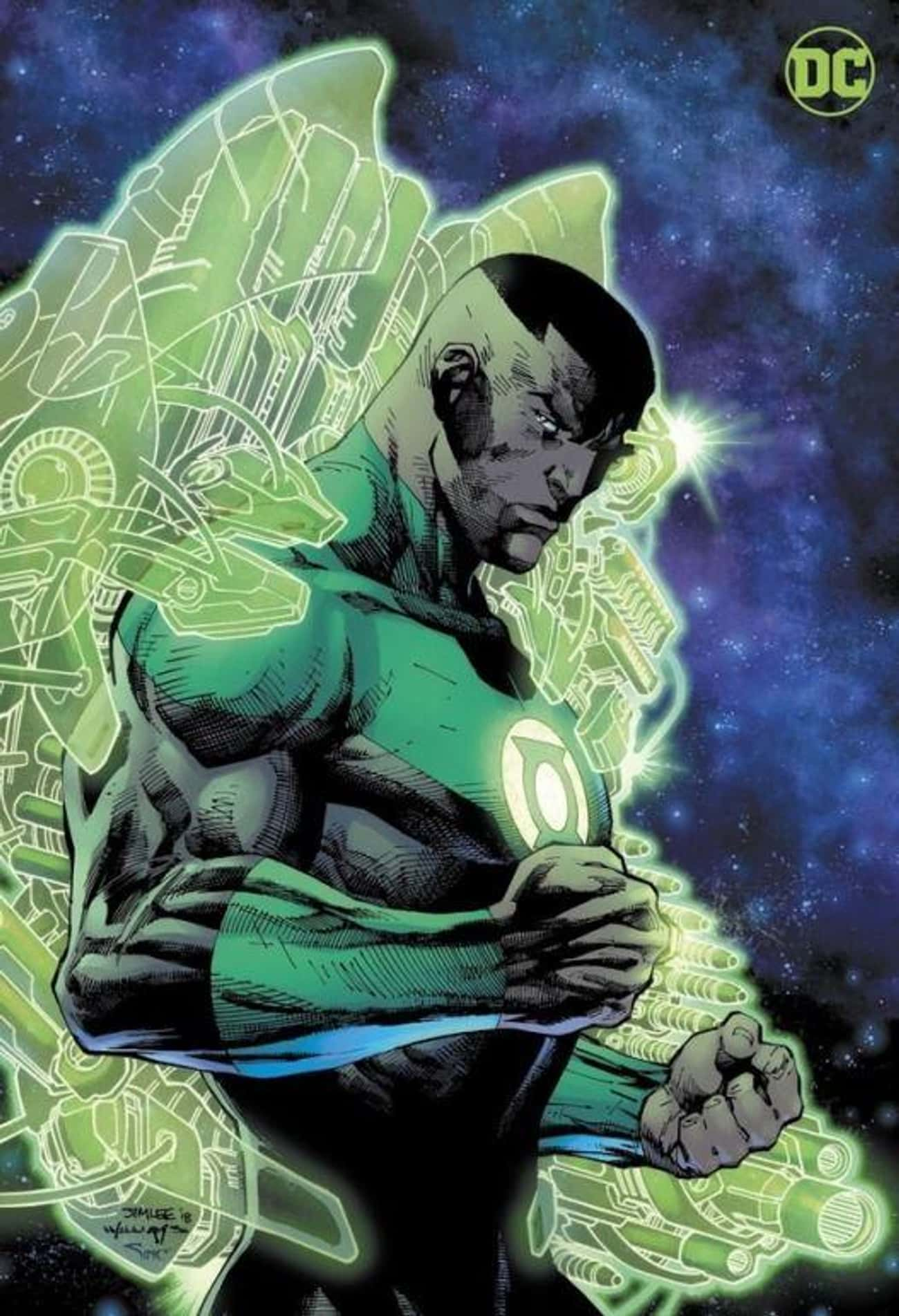 John Stewart, The Green Lanter is listed (or ranked) 1 on the list The Biggest Superheroes And Villains Who Have Never Appeared In Live-Action