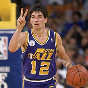 John Stockton is listed (or ranked) 3 on the list The Best White Players in NBA History