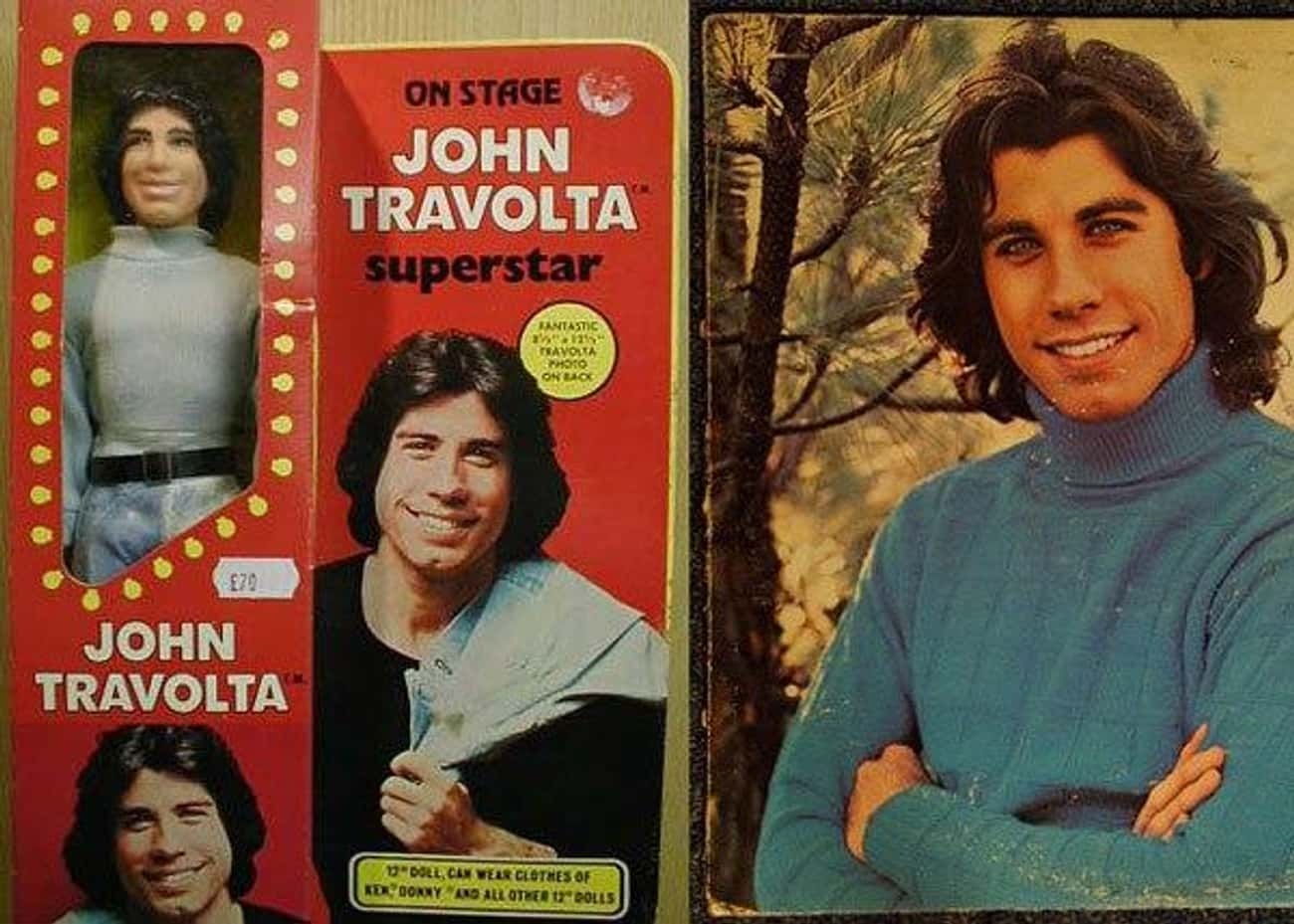 John Travolta is listed (or ranked) 3 on the list Creepy Celebrity Dolls That Will Give You Nightmares