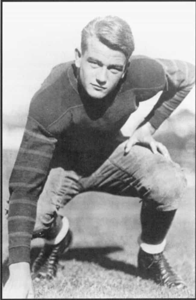 John Wayne is listed (or ranked) 2 on the list 34 Celebrities Who Played High School Football