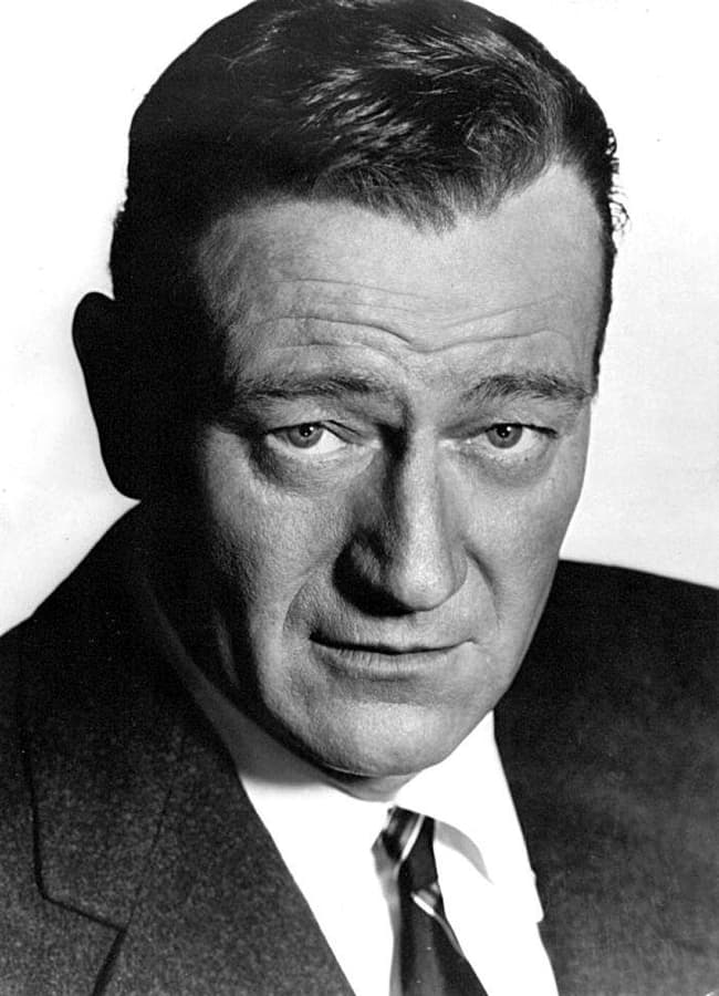 John wayne is listed or ranked 1 on the list 36 famous movie stars