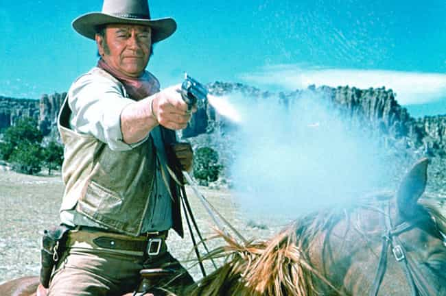 John Wayne is listed (or ranked) 3 on the list Which Action Star Has The Butchest Character Names?