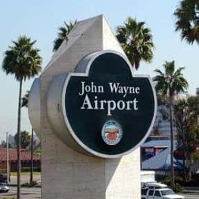 John Wayne Airport is listed (or ranked) 7 on the list The Best U.S. Airports