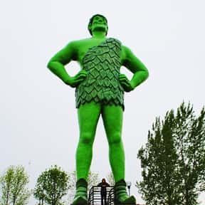 Jolly Green Giant is listed (or ranked) 17 on the list The Most Memorable Advertising Mascots of All Time