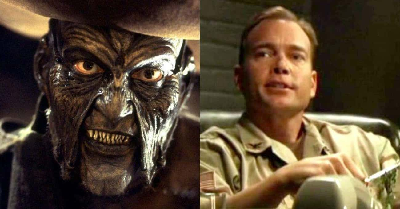 The Creeper/Jonathan Breck is listed (or ranked) 3 on the list What These Notable Horror Villains Look Like Without Their Makeup