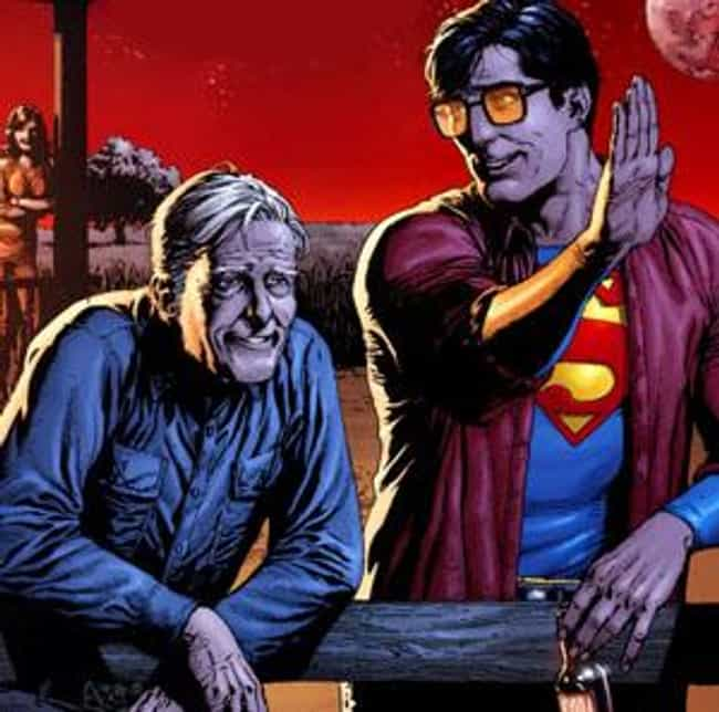 Jonathan Kent is listed (or ranked) 3 on the list Comic Characters Who Stayed Dead