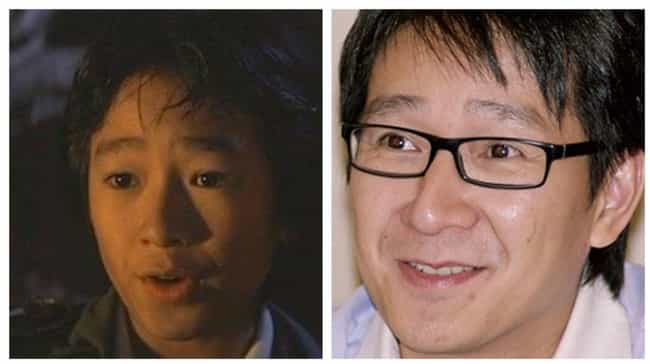 Jonathan Ke Quan is listed (or ranked) 4 on the list The Cast Of The Goonies: Where Are They Now?