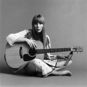 Joni Mitchell is listed (or ranked) 24 on the list The Best Acoustic Bands and Artists of All Time