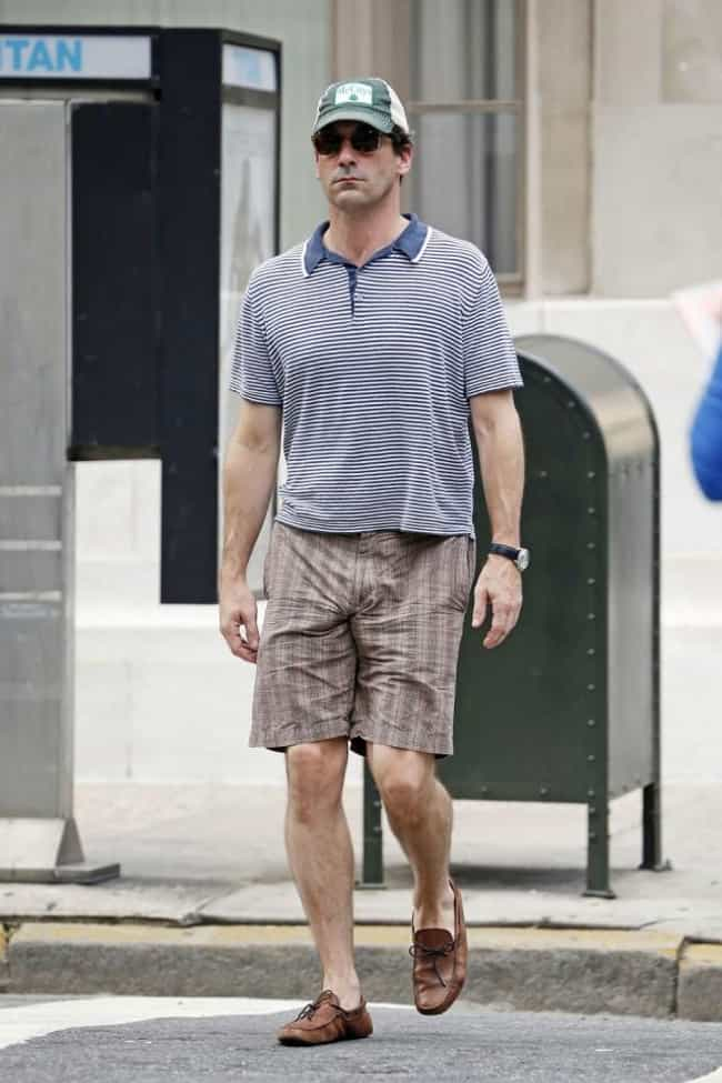 Jon Hamm is listed (or ranked) 13 on the list The Celebrities with the
