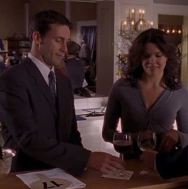 Jon Hamm is listed (or ranked) 2 on the list People You Forgot Guest Starred on Gilmore Girls