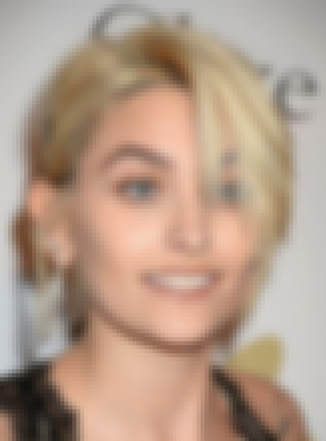 Paris Jackson is listed (or ranked) 1 on the list Celebrities Who Believe in Conspiracy Theories