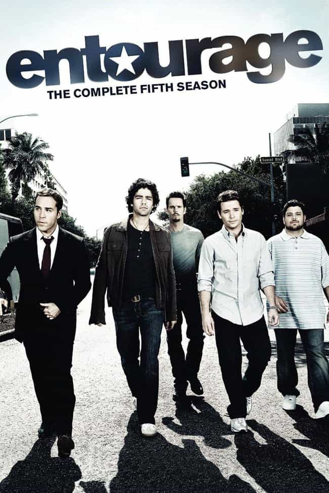 Entourage - Season 5 is listed (or ranked) 4 on the list The Best Seasons of 'Entourage'
