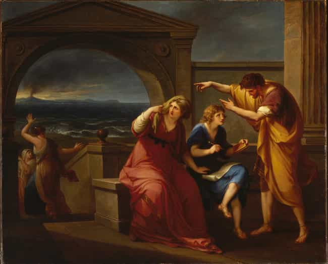 Pliny the Younger and Hi... is listed (or ranked) 2 on the list Famous Angelica Kauffmann Paintings