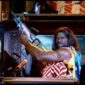 President Camacho is listed (or ranked) 1 on the list List of Idiocracy Characters