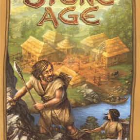 Stone Age is listed (or ranked) 19 on the list The Best Board Games of All Time