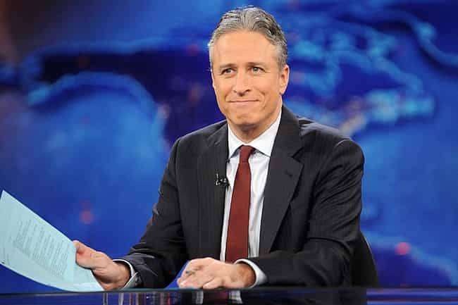 Jon Stewart is listed (or ranked) 4 on the list List of Famous Comedians