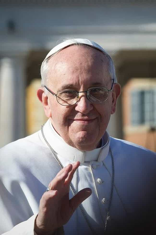 Pope Francis is listed (or ranked) 3 on the list Celebs (Including Republicans) Who Say Trump Is Horrible