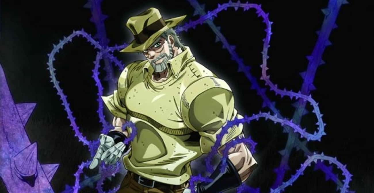 Joseph Joestar is listed (or ranked) 2 on the list The Best Anime Characters With Beards