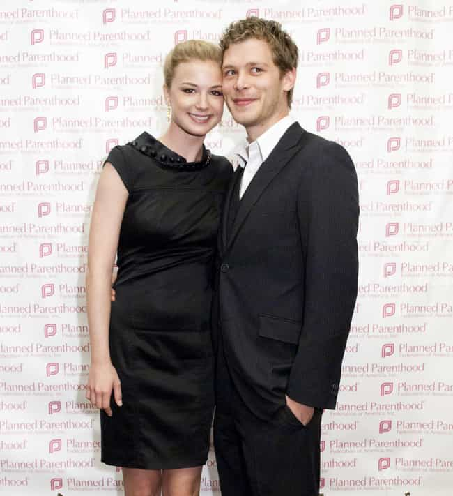 Joseph Morgan is listed (or ranked) 2 on the list Emily VanCamp Loves and Hookups