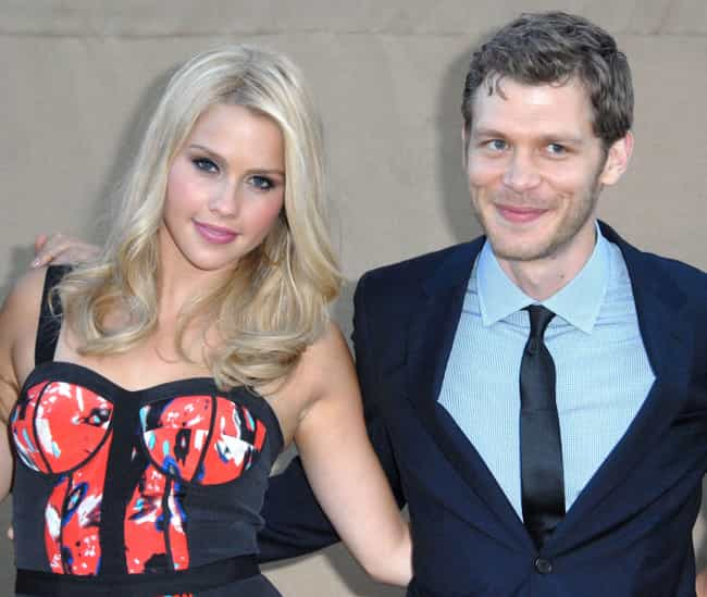 Joseph Morgan is listed (or ranked) 3 on the list Claire Holt Loves and Hookups