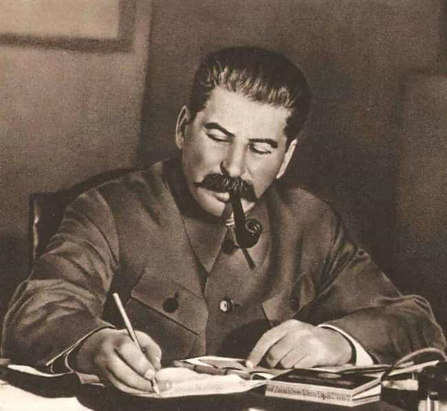 Joseph Stalin is listed (or ranked) 4 on the list Bizarre Obsessions of Dangerous Dictators