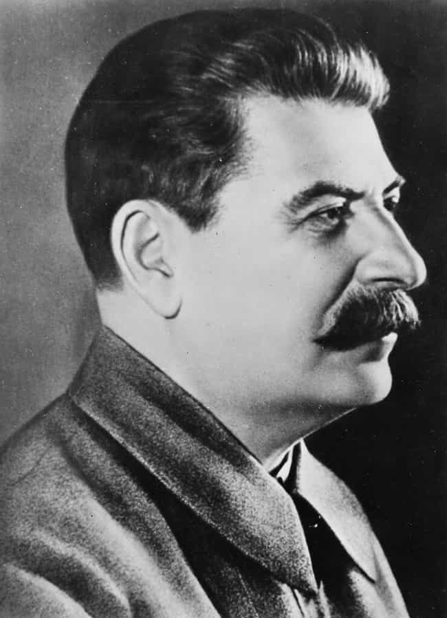 Joseph Stalin is listed (or ranked) 1 on the list 8 Celebrities You Didn't Know Have Webbed Feet And Toes