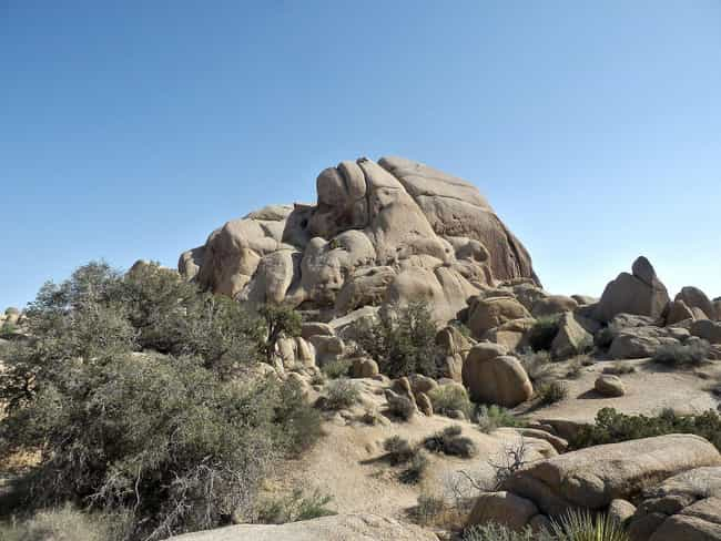 Joshua Tree National Par... is listed (or ranked) 2 on the list The Best Camping Spots in Southern California