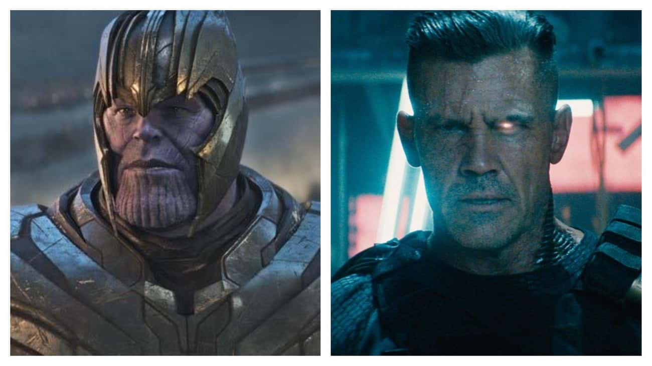 Josh Brolin (Thanos/Cable)
